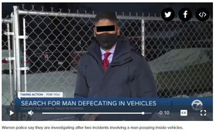 Serial shitter on the loose.