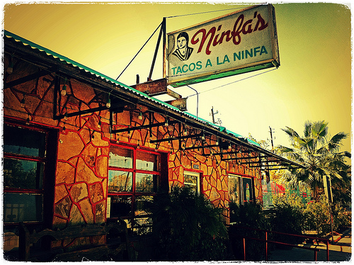 A picture of the original Ninfa's on Navigation in Houston, Texas.