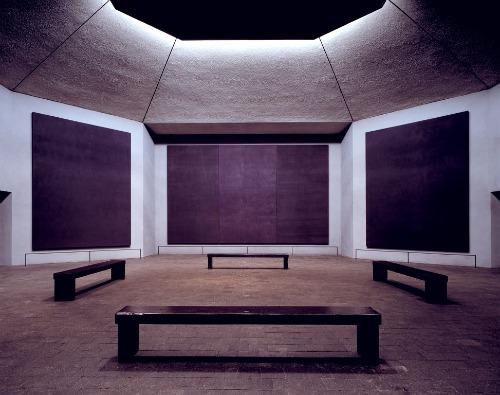 A photo of Rothko Chapel in Houston, TX.