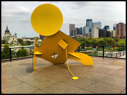 A photo of downtown Minneapolis