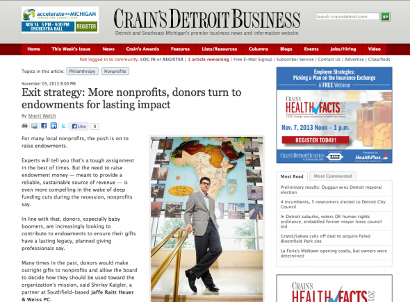 An image from Crain's Detroit Business