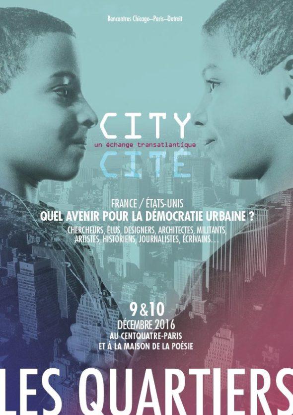 Advertisement for City/Cité in Paris