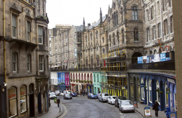 View of Victoria Street