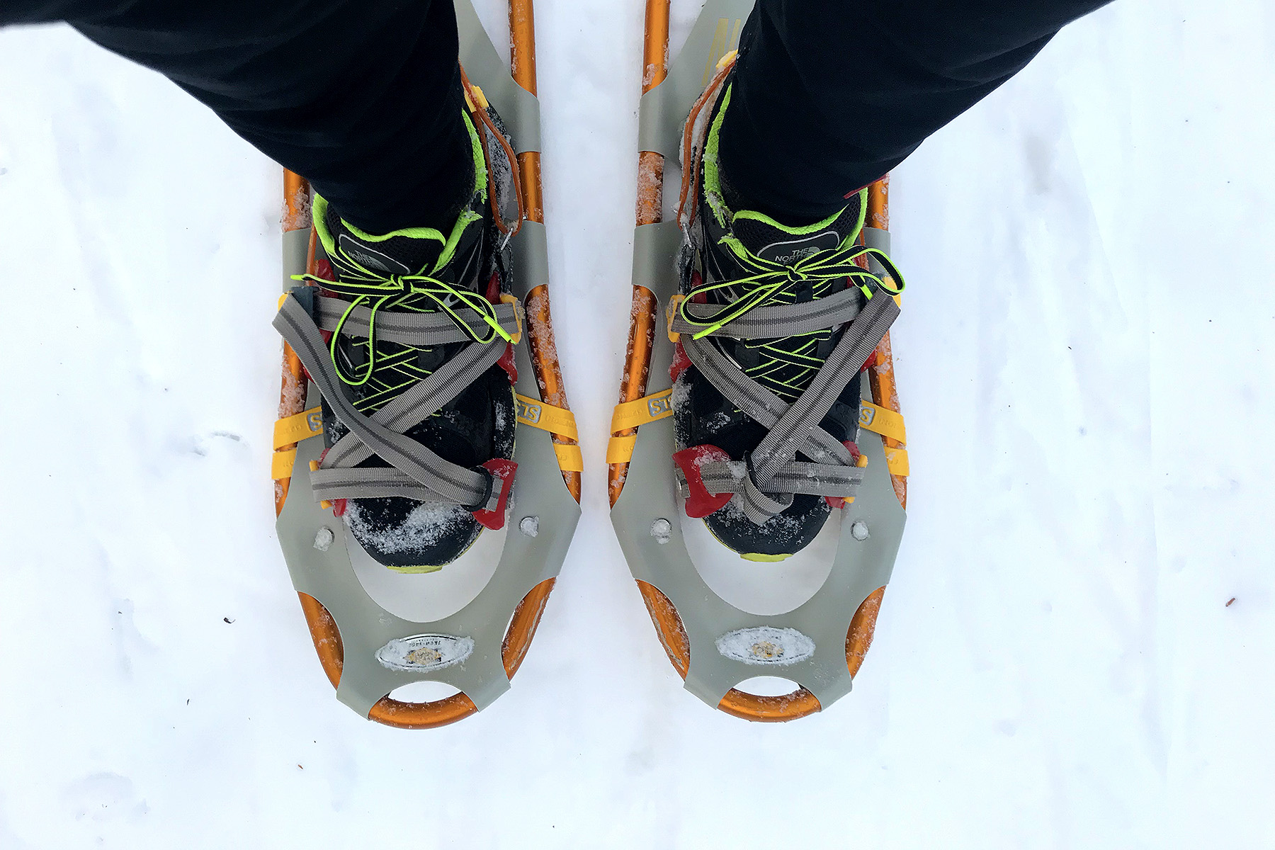 Ready to go in my Atlas Snowshoes