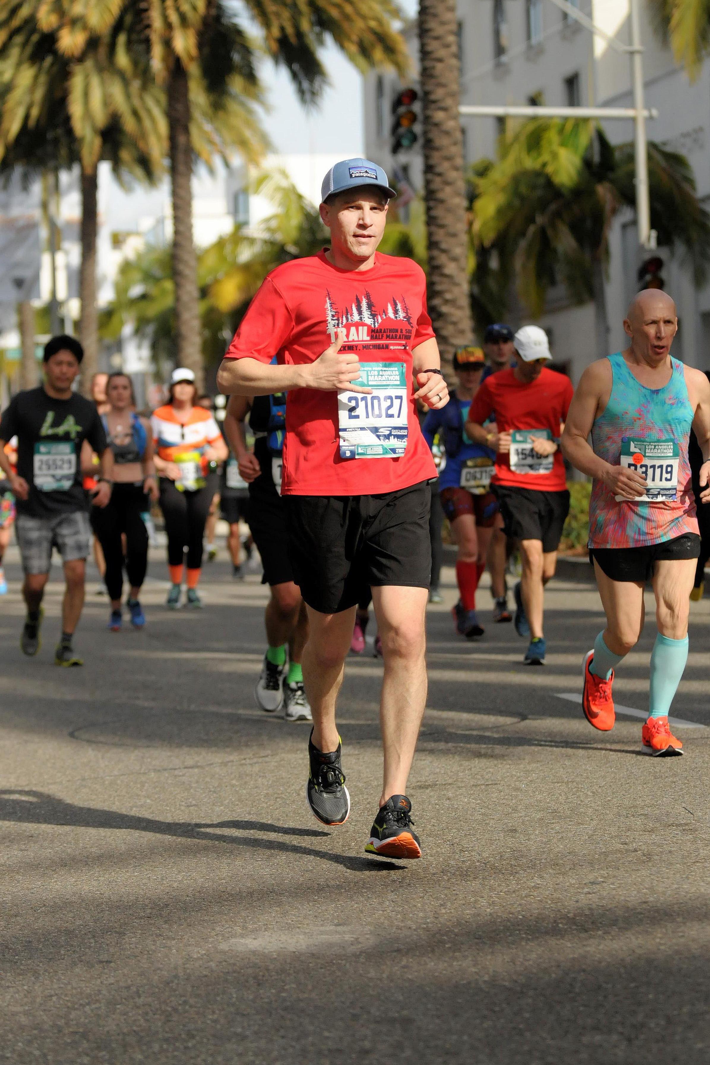 Running the LA Marathon