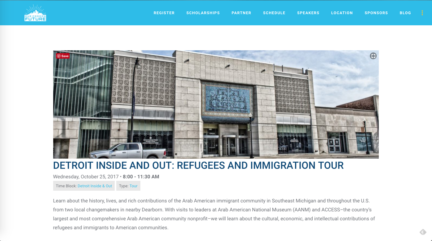 Detroit Inside And Out: Refugees And Immigration Tour