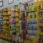 Display of our wide selection of artificial bait