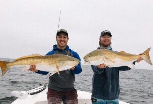red fish caught on sanibel fishing charter