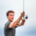 bait on a fishing hook