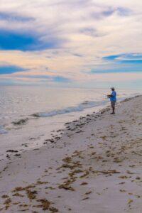 sanibel fishing at island inn beach
