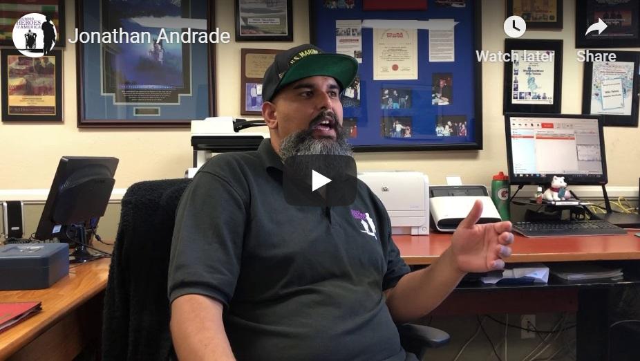 Jonathan Andrade Interview Video Thumbnail