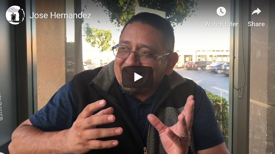 Jose Hernandez Interview Video Thumbnail