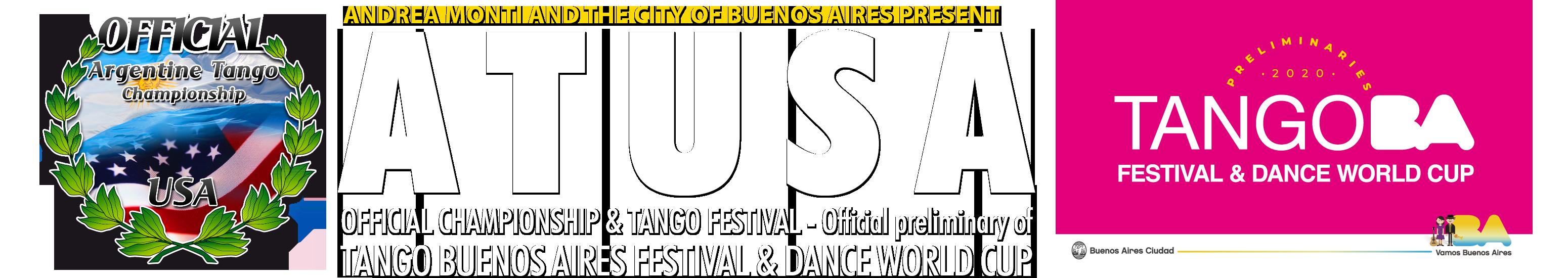 ARGENTINE TANGO U.S.A. Logo