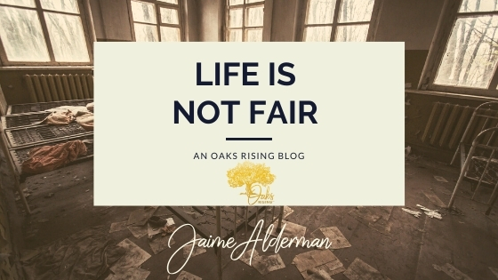 "Blogpost ""Life Is Not Fair"""