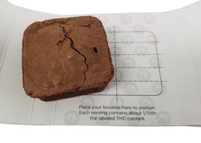 TKO Edibles Brownie