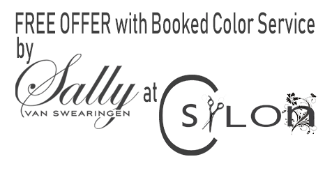 FREE OFFER with Booked Color Service – C Salon – Happy 4th