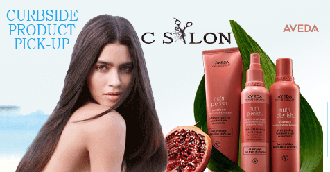 Pick-Up Products Curbside at   C Salon SCV