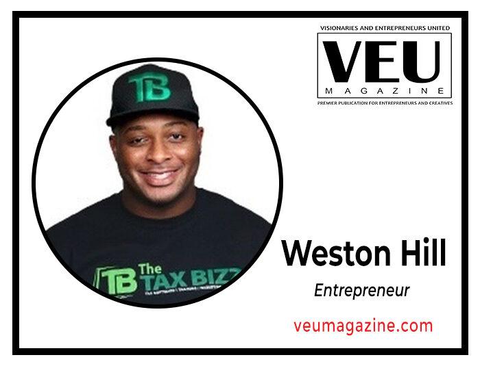 Entrepreneur weston hill