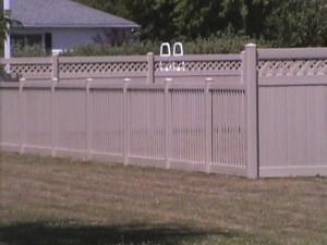 tan vinyl fence - Copy
