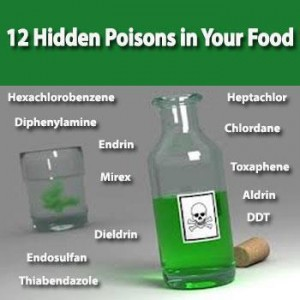 12 hidden poisons in your food