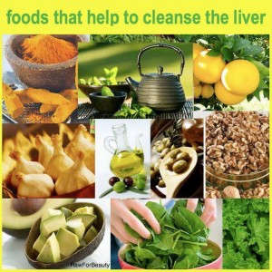 foods that help cleanse the liver