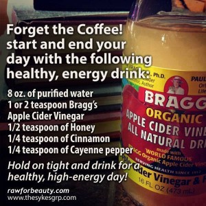 start your day with a healthy drink