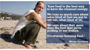 raw food = cleanest energy