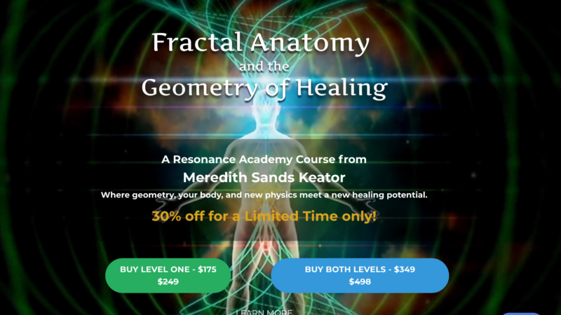 Fractal Anatomy & Geometry of Healing