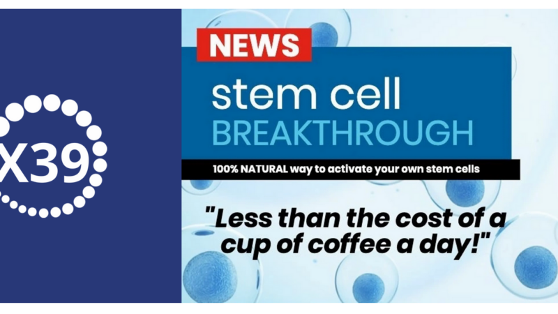 Stimulate your stem cells!