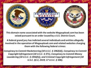 Megaupload was siezed by the US Feds