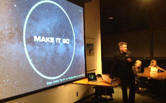 Christopher Noessel Discusses his New Book: Make It So: Interaction Design Lessons from Sci-Fi