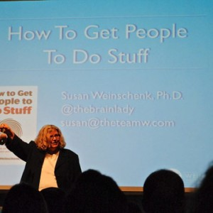 Susan Weinschenk Talks at Cross Campus in Santa Monica