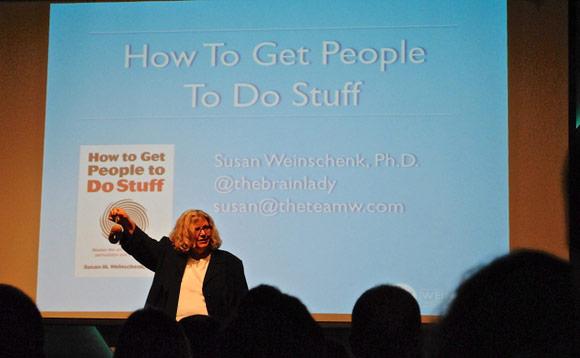 Susan Weinschenk Talks at Cross Campus in Santa Monica