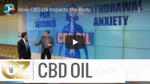 DR Oz CBD Oil Video Screenshot