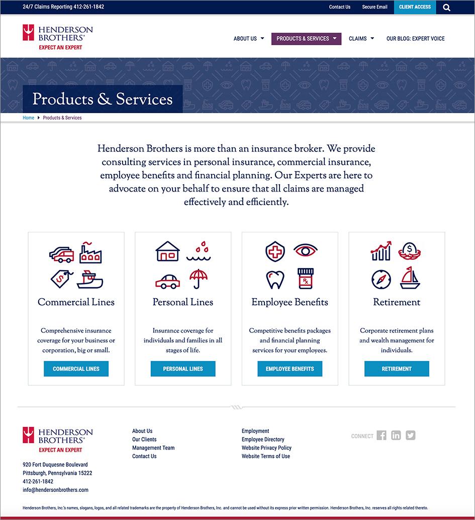 Henderson Website
