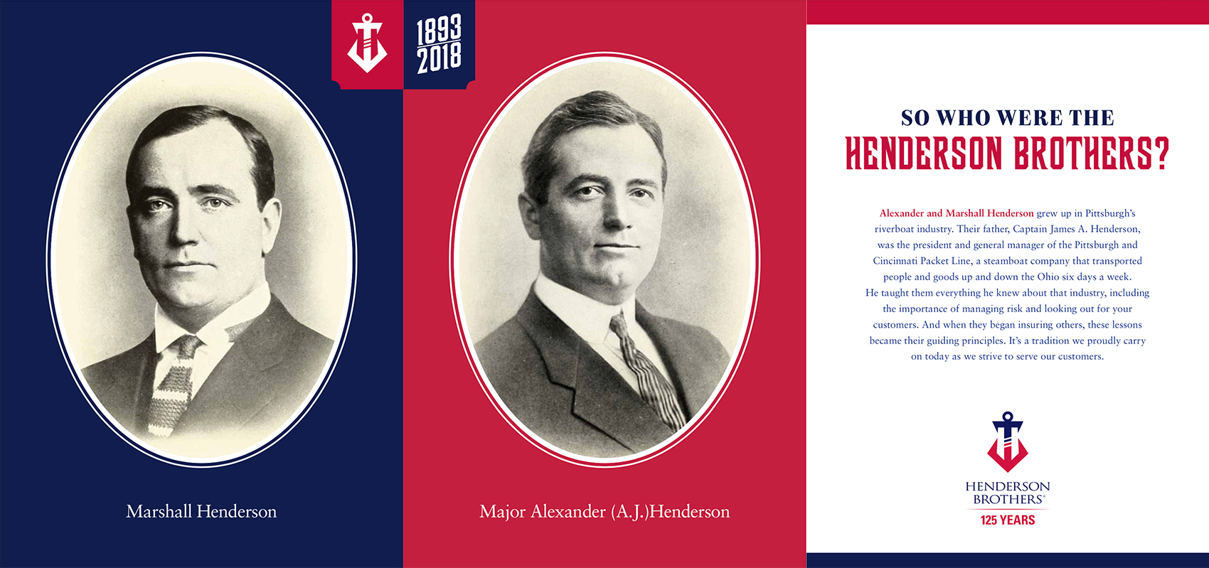 Henderson Brothers 125th Anniversary