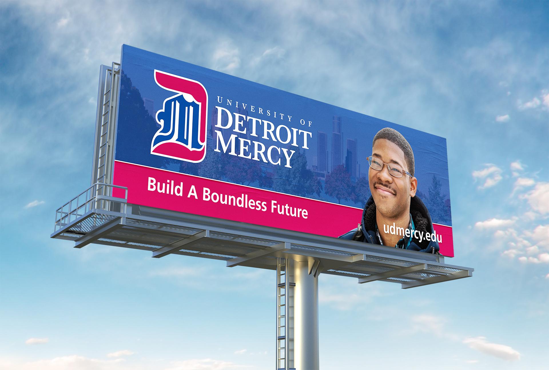 Detroit Mercy Billboard