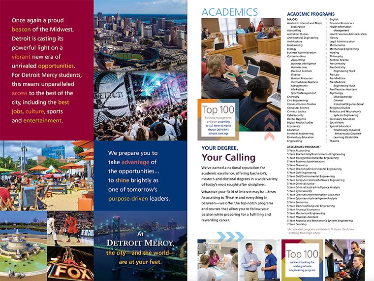 Detroit Mercy Brochure