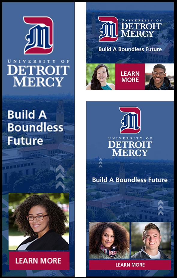 Detroit Mercy Digital Ad
