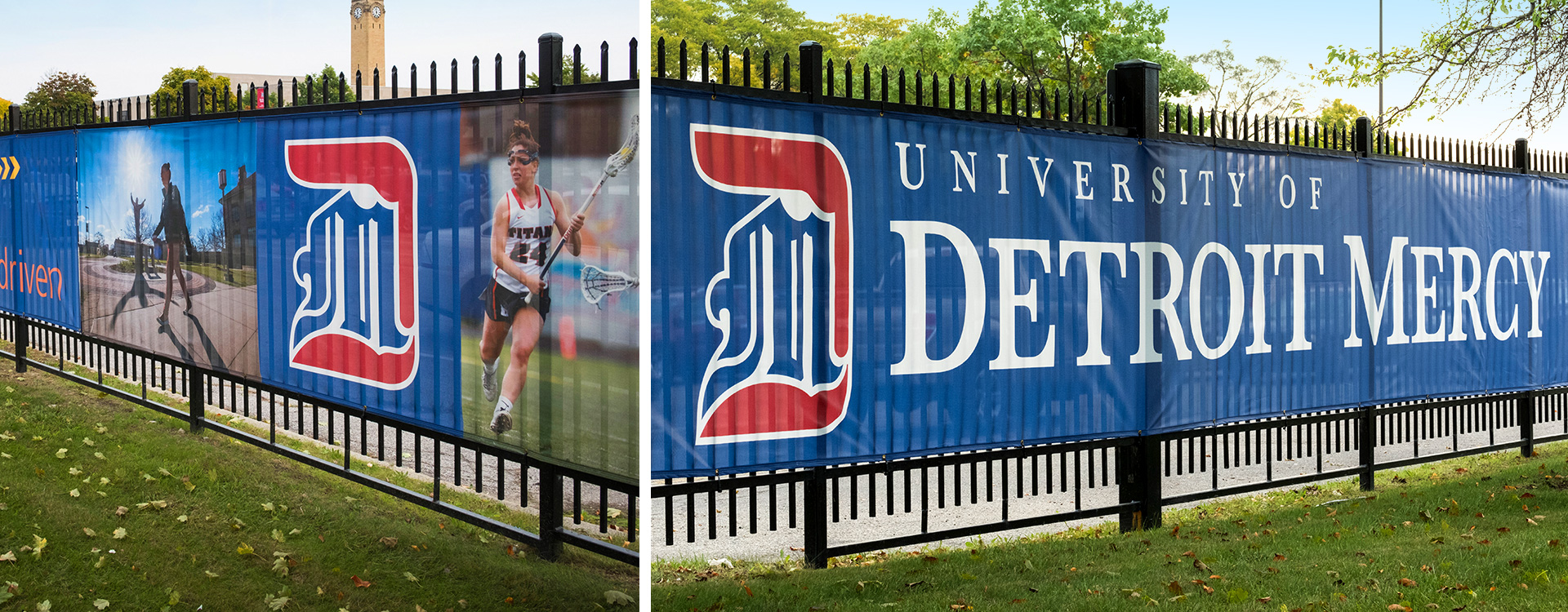 Detroit Mercy Signs