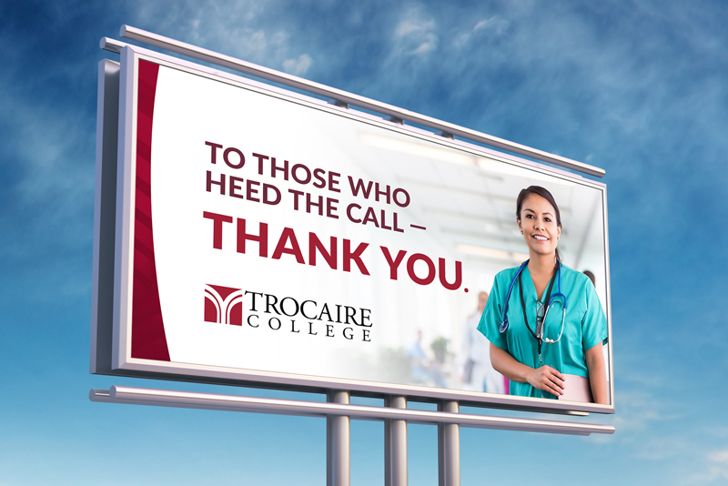 Trocaire thanks healthcare workers
