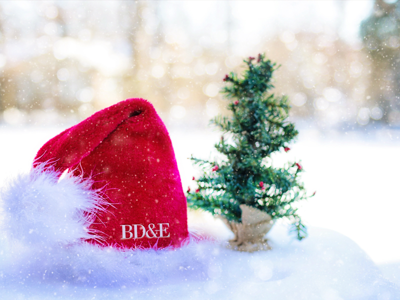 Happy Holidays from BD&E