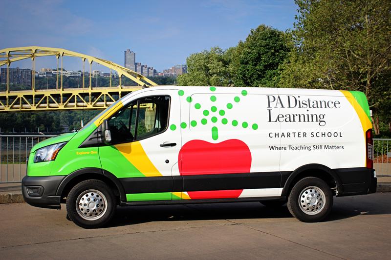 PA Distance Learning community van