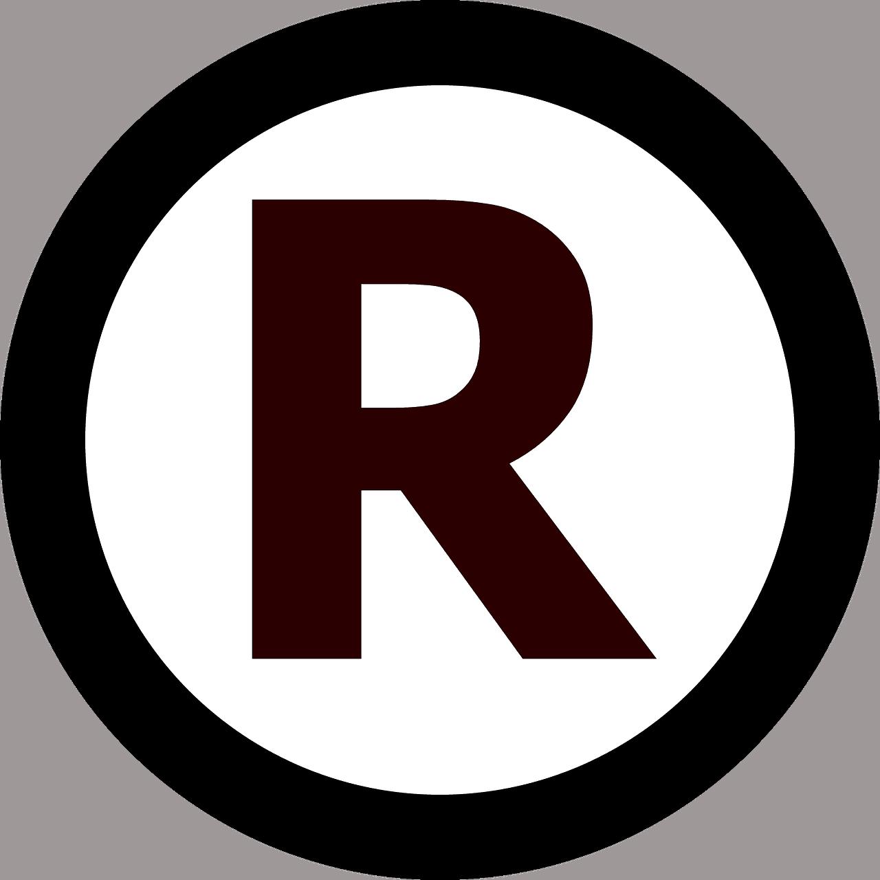 znak towarowy R