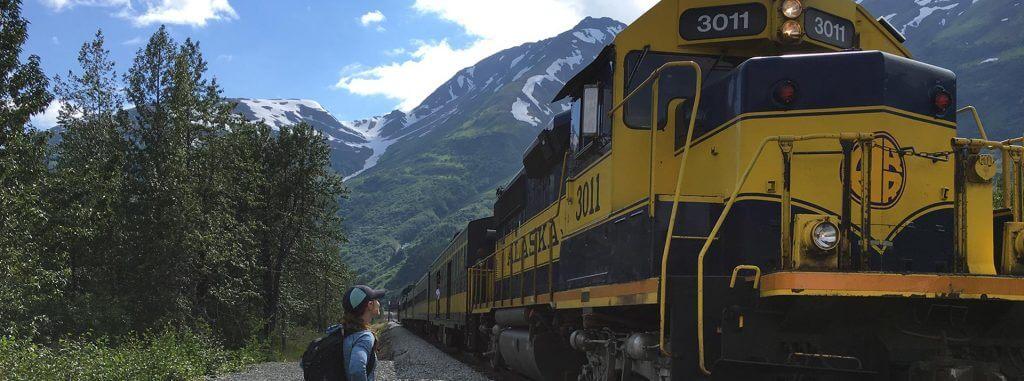 Alaska Railroad to Spencer Whistle Stop