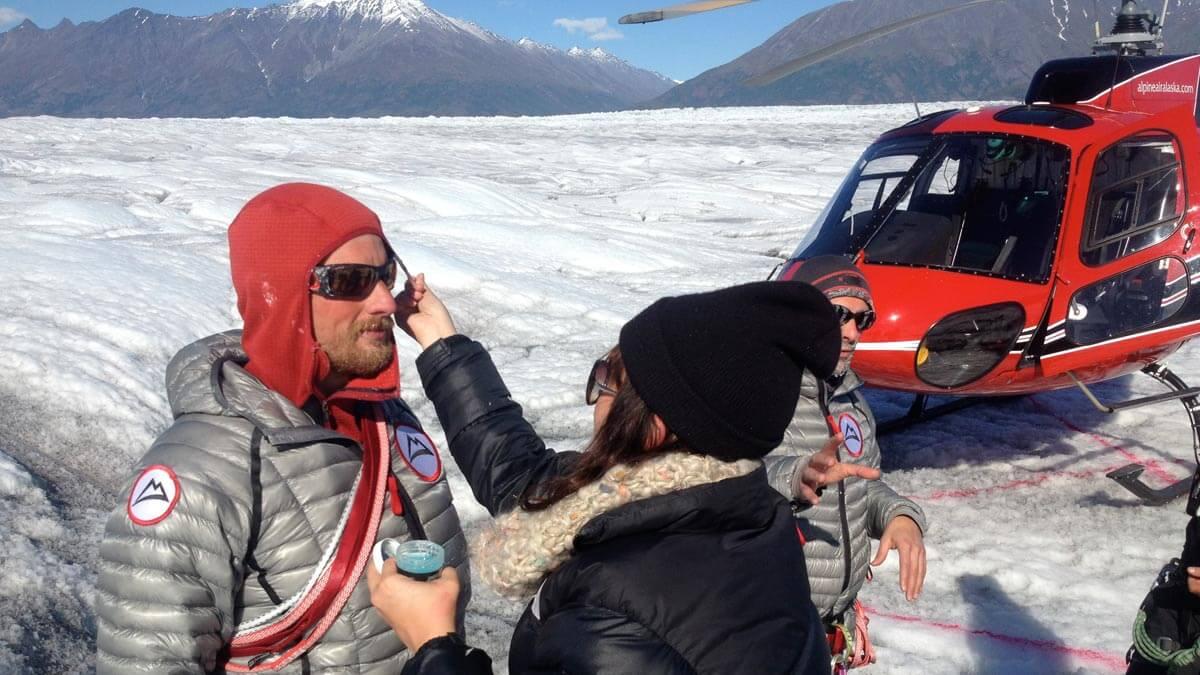 Alaska Glacier Filming
