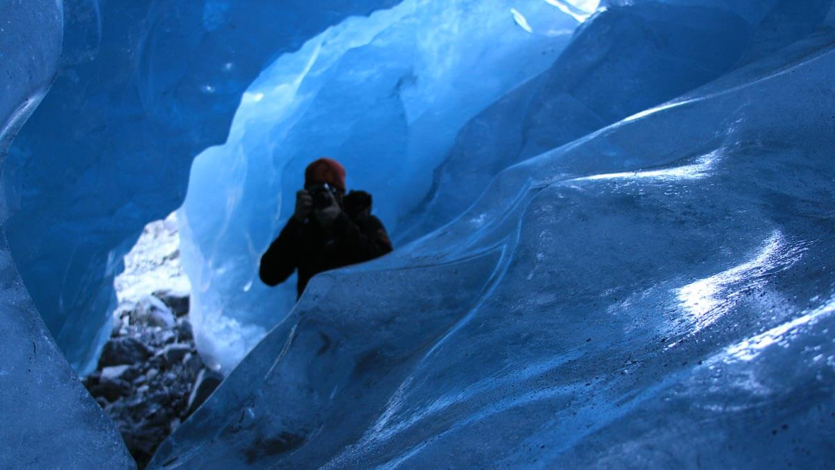 Ice Cave Photographer