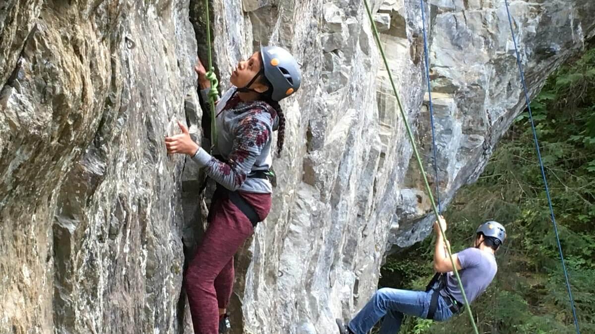 Rock Climbing at Alyeska