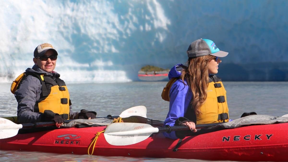 Kayaking Near the Spencer Glacier