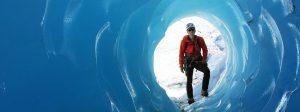 Alaska Glacier Ice Cave Exploration